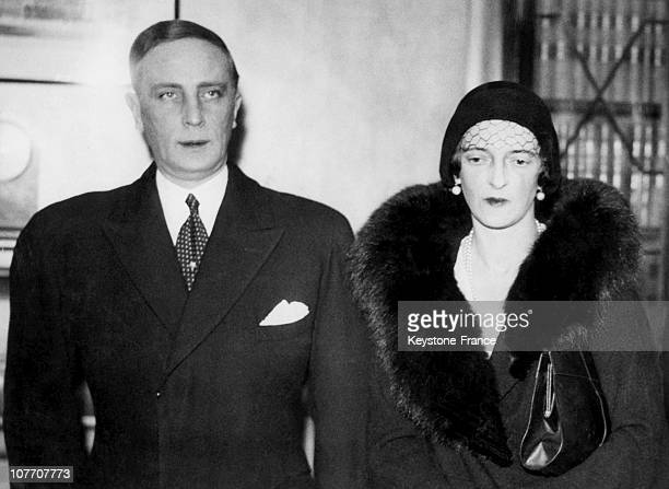 KINGDOM CIRCA 1932 The Russian Prince Felix Yusupov Rasputin'S Murderer And His Wife The Niece Of Tsar Nicolas Ii Of Russia In London When Princess...