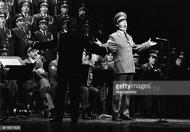 The Russian Red Army tour stop at Town Hall Theater on September 91989 in New York City