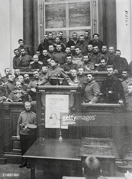 Workers Meet in the Duma 1917 | Location The Duma Moscow