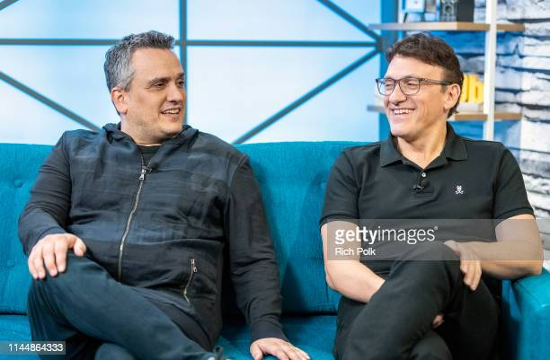 <<The Russo Brothers visits The IMDb Show on April 23 2019 in Studio City California The episode airs April 18 2019>> on April 23 2019 in Studio City...