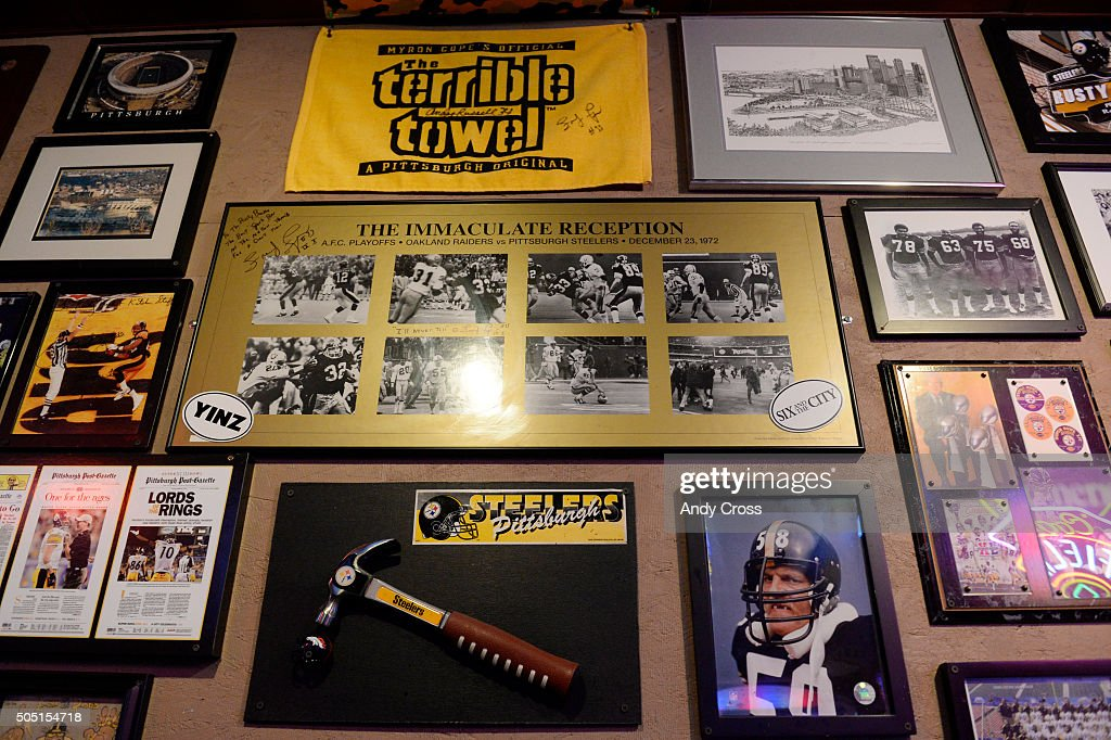 wholesale dealer c3203 fa7ef The Rusty Bucket Bar and Grill Pittsburgh Steelers ...
