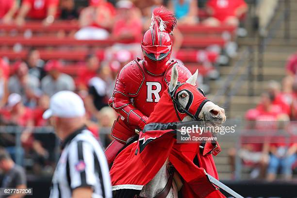 The Rutgers Scarlet Knight on the field during the game between the Rutgers Scarlet Knights and the Howard Bison played at High Point Solutions...