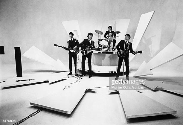The Rutles storm America with their performance on the Ed Sullivan show in1978 in New York City New York The PreFab Four were filming their...