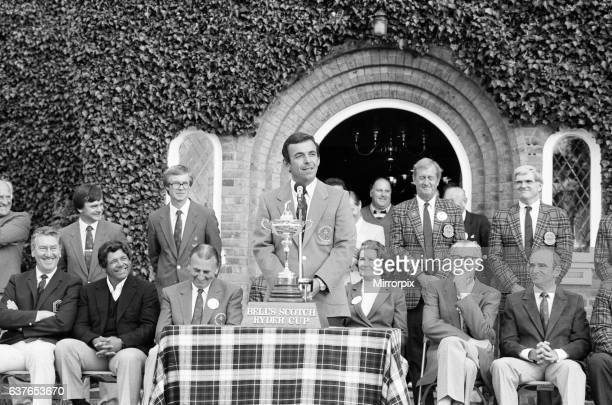 The Ryder Cup tournament held 13th to 15th September 1985 at the Brabazon Course of The Belfry in Wishaw Warwickshire Team Europe won the competition...