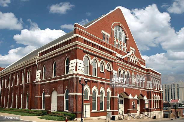 the ryman auditorium - tennessee stock pictures, royalty-free photos & images