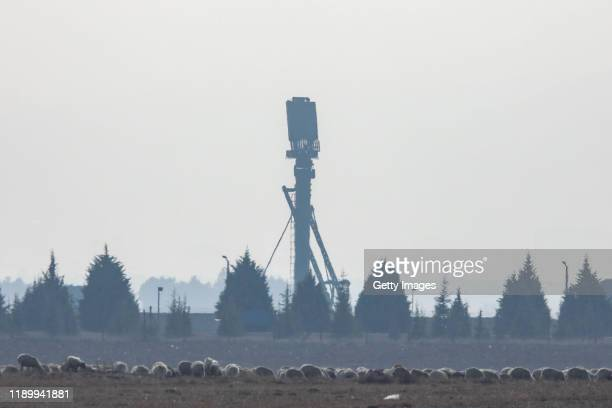 The S400 air defence system from Russia is activated for testing at Turkish Air Force's Murdet Air Base on November 25 2019 in Ankara Turkey Turkey...