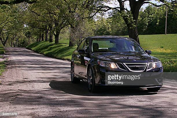 The Saab Turbo X is driven in East Burke Vermont US on Saturday May 24 2008 The limitededition car features a turbocharged 28liter V6 engine