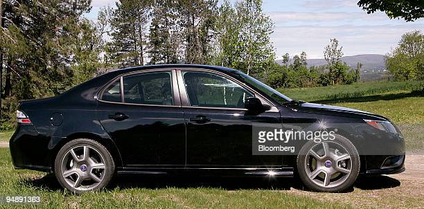 The Saab Turbo X is photographed in East Burke Vermont US on Saturday May 24 2008 The limitededition car features a turbocharged 28liter V6 engine