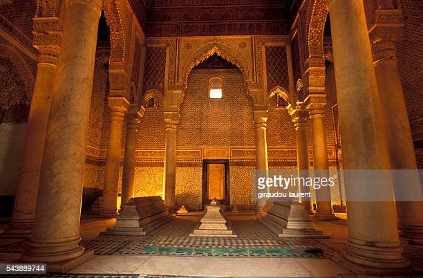 The Saadian tombs in Marrakech date back from the time of the sultan Ahmad al-Mansur . The mausoleum comprises the corpses of about sixty members of...