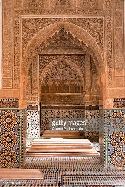The Saadian tombs in Marrakech from the era of sultan Ahmad al-Mansur