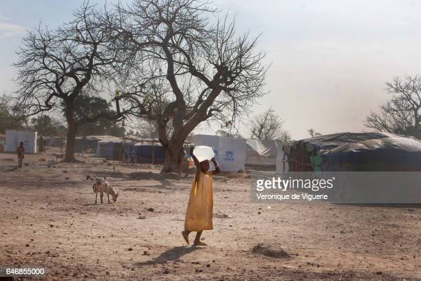 The Saagniogniogo refugee camp, 25km from Ouagadougou, is sheltering 2000 refugees from Mali who have fled the conflict there, particularly those who...
