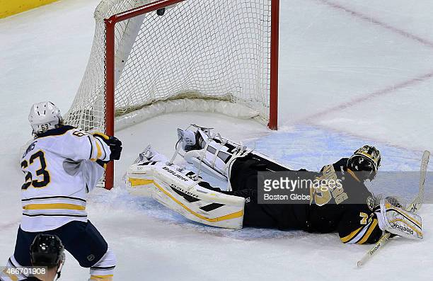 The Sabres' Tyler Ennis beats Bruins goalie Niklas Svedberg for the only goal in the shootout giving the Sabres a 21 victory The Boston Bruins hosted...