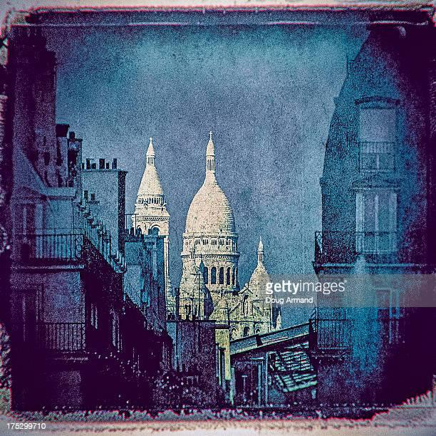 The Sacré Coeur in Paris, France