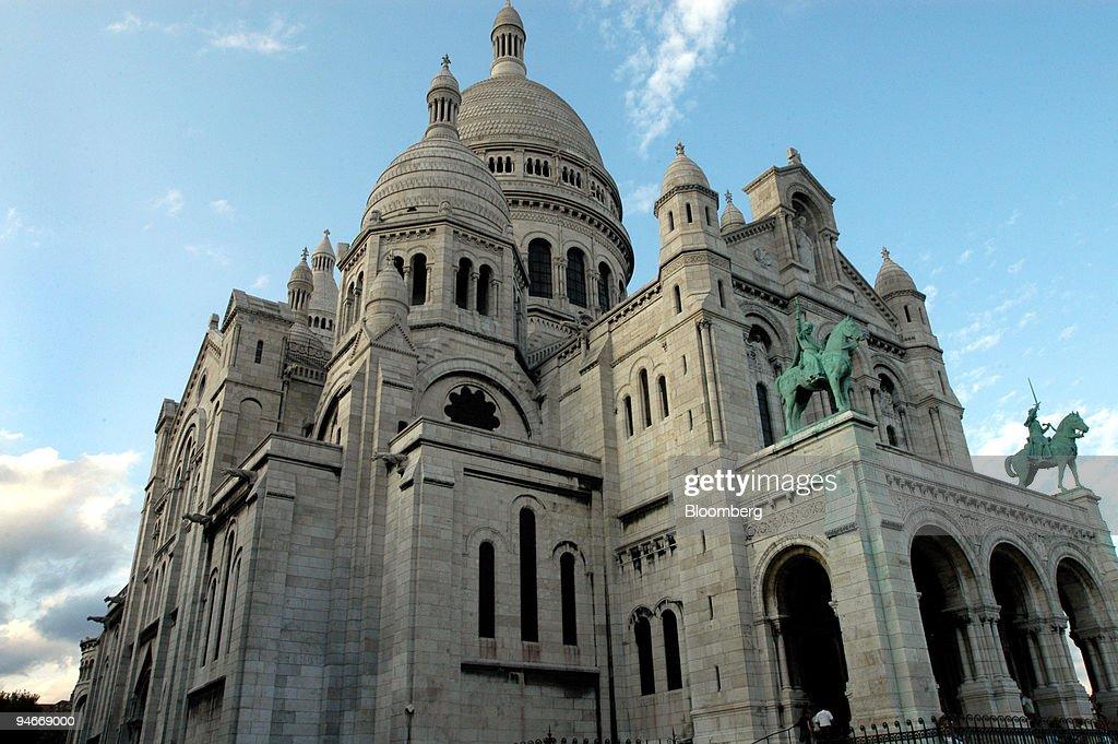 The Sacr?-C?ur Basilica is seen in Paris,