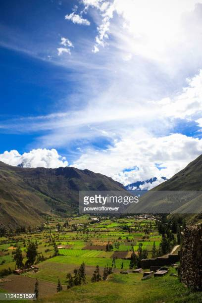 The Sacred Valley of the Incas in Peru