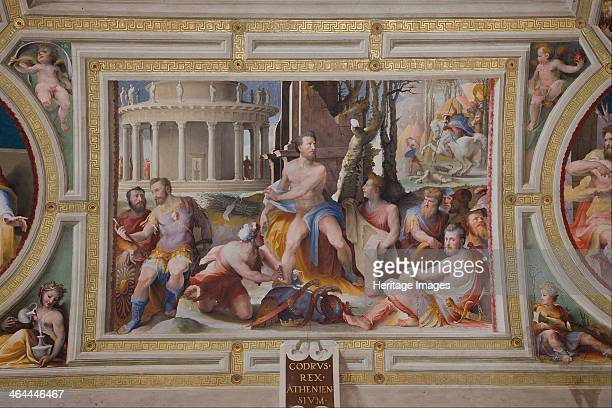 The Sacrifice of Codrus King of Athens 15291535 Found in the collection of the Palazzo Pubblico Torre del Mangia Siena