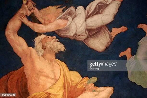 The sacrifice of Isaac Room of Heliodorus Vatican Museum
