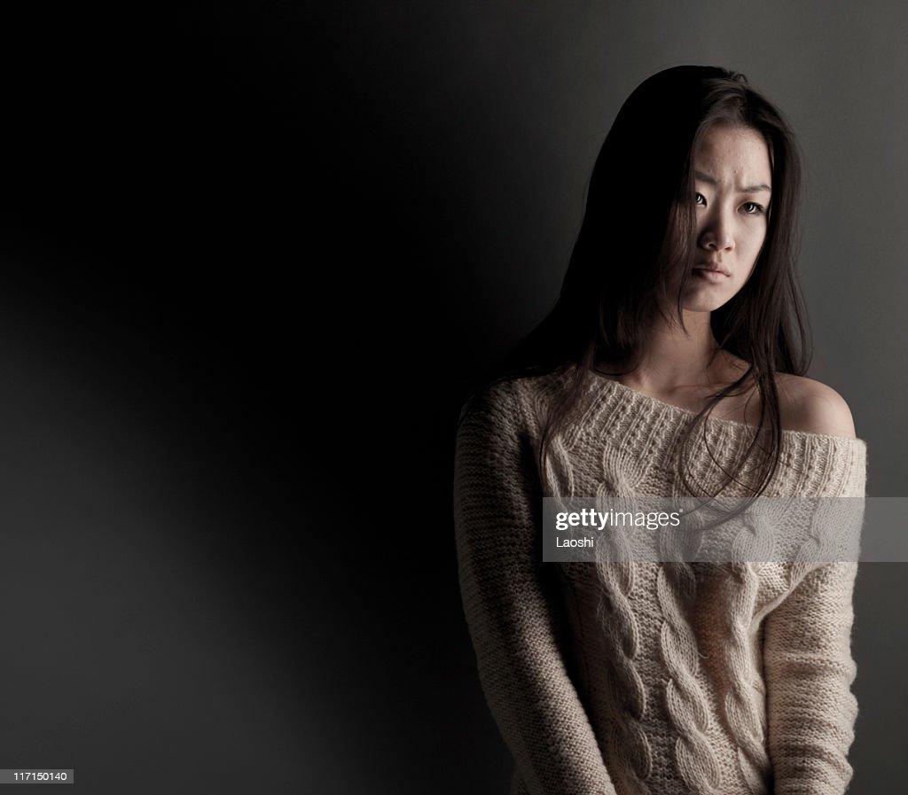 The sadness : Stock Photo