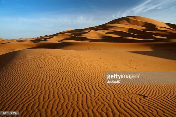 il sahara - duna foto e immagini stock