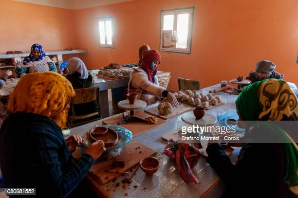 The Saharawi pottery school and cooperative for women is made up of 20 Saharawi women where pottery courses are held and pottery productions are then...