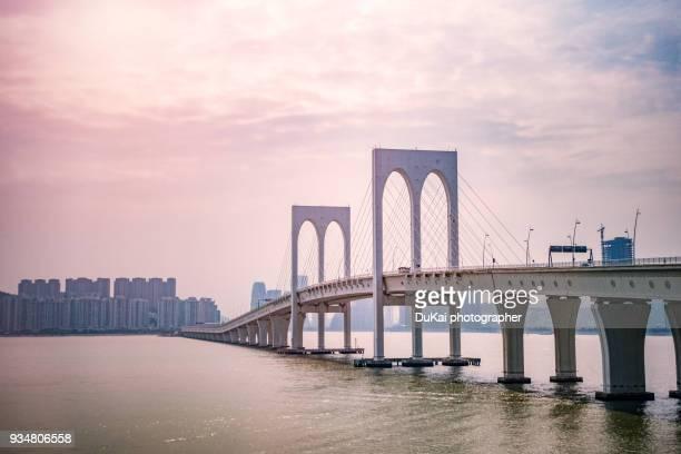 The Sai Van Bridge, in Macao.