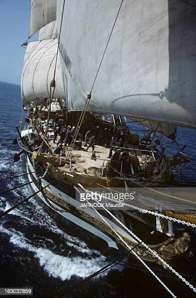 The Sailboat 'Amerigo Vespucci' Juin 1963 'L'Amerigo Vespucci' voilierécole de la marine militaire italienne utilisé à la formation des élèves...