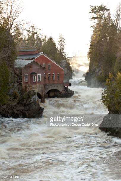 the saint george gorge - new brunswick canada stock pictures, royalty-free photos & images