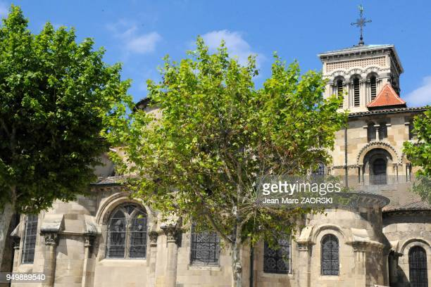 The SaintApollinaire Cathedral in Valence in France on June 4 2013