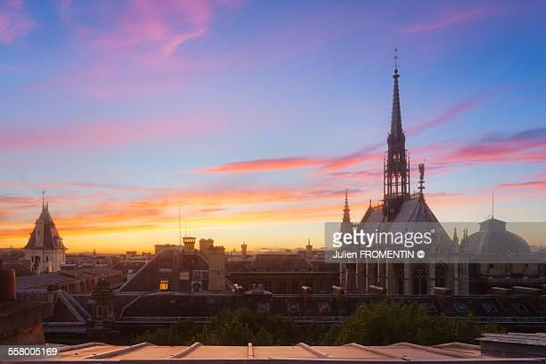 The Sainte-Chapelle, Paris