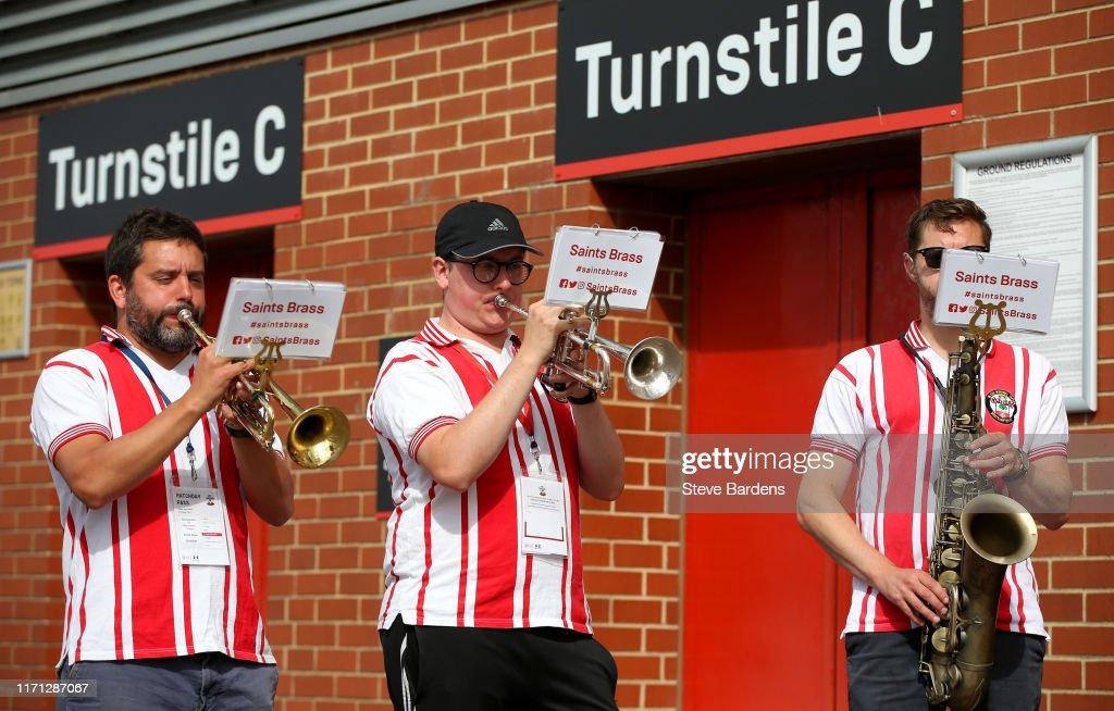 Southampton FC v Manchester United - Premier League : Nieuwsfoto's