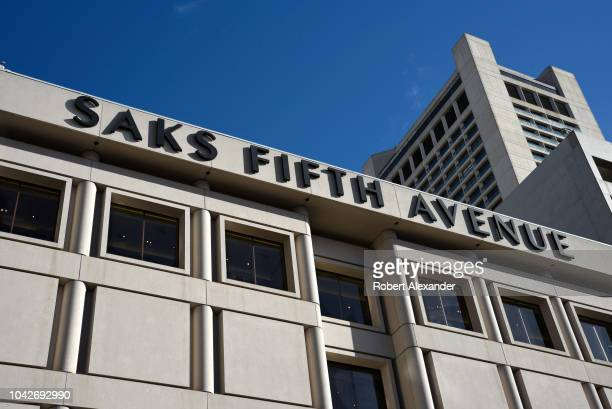 The Saks Fifth Avenue building in Union Square in San Francisco, California.