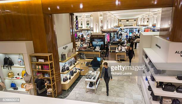 The Saks Fifth Avenue flagship store in New York on Friday January 8 2016 Hudson's Bay the Canadian owner of Saks and Lord Taylor has purchased the...