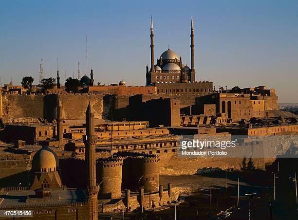 'The Saladin Citadel by Ayyubid craftsmen 10th11th Century sandstone Egypt Cairo Citadel Whole artwork view The Cairo Citadel built by the Ayyubid...