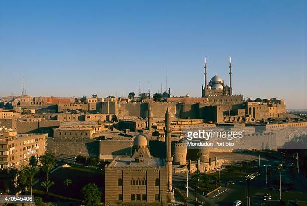 'The Saladin Citadel by Ayyubid craftsmen 9691184 10th11th Century sandstone Egypt Cairo Whole artwork view The Cairo Citadel built by the Ayyubid...