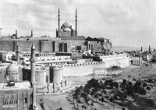 The Saladin Citadel Cairo Egypt c1920s Plate taken From In the Land of the Pharaohs published by Lehnert Landrock