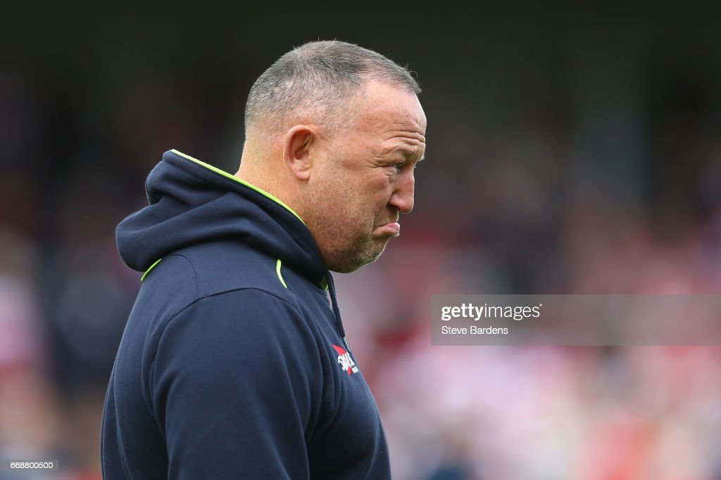 Gloucester Rugby v Sale Sharks - Aviva Premiership : Foto jornalística