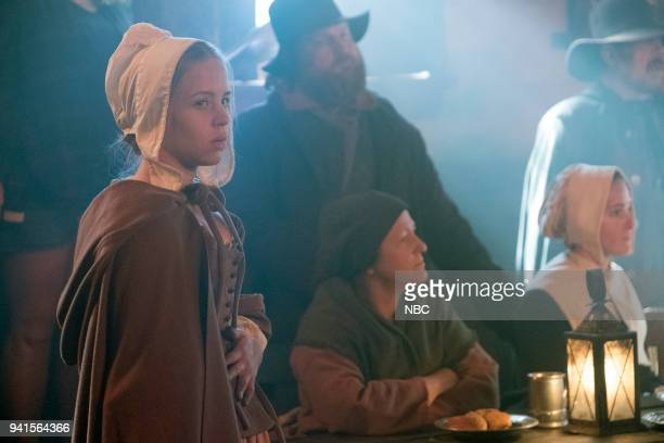 TIMELESS The Salem Witch Hunt Episode 204 Pictured Sofia Vassilieva as Abiah