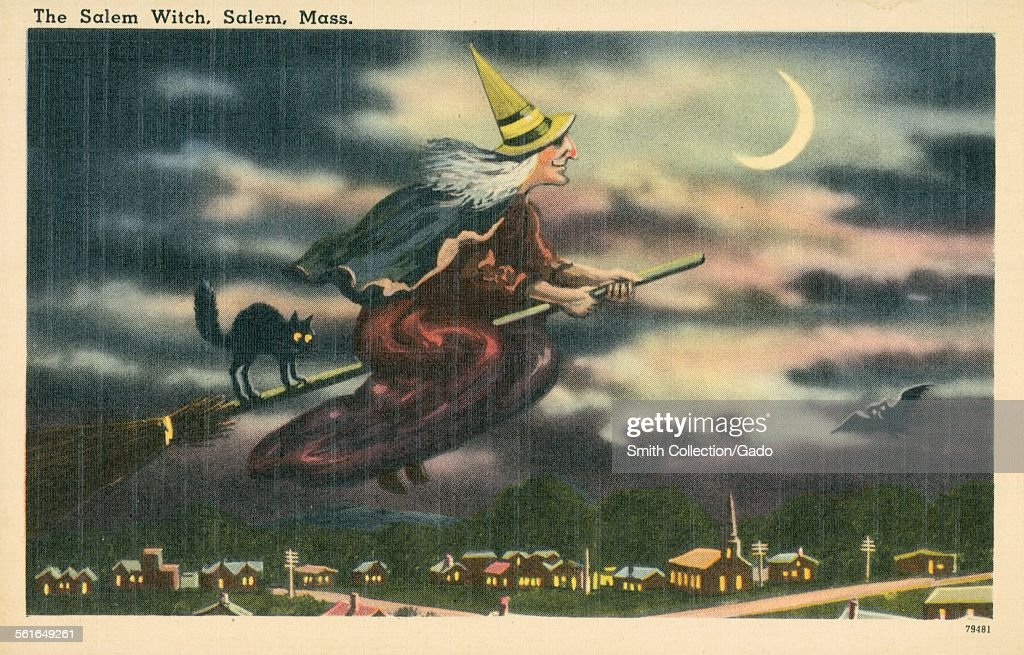 The Salem Witch, Salem, Massachusetts, 1924.