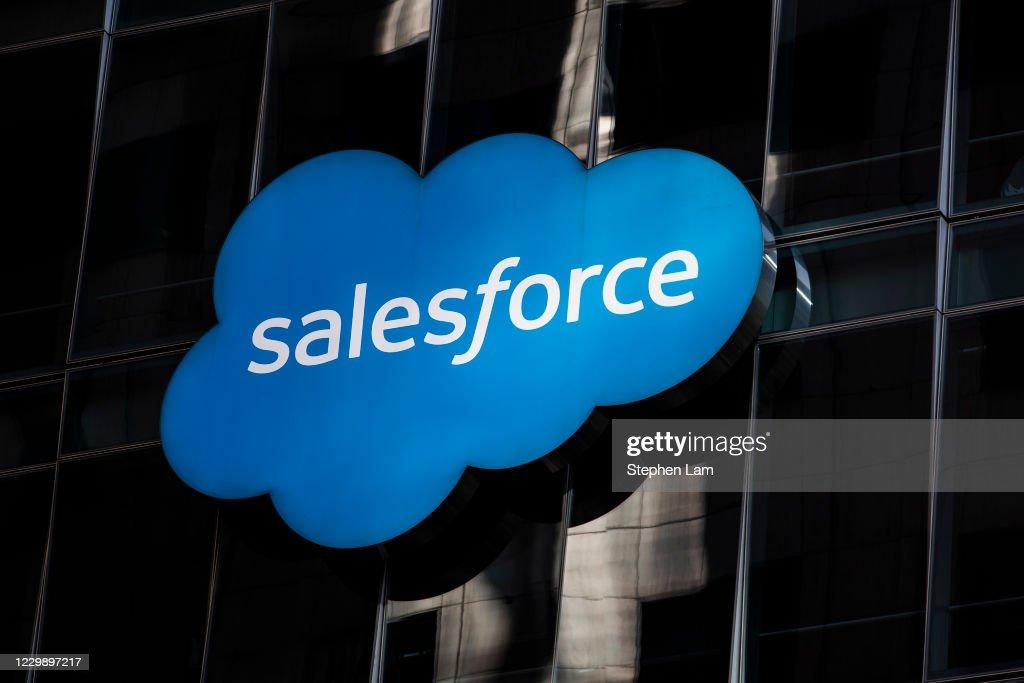 Salesforce To Purchase Popular Messaging Platform Slack For 27 Billion : ニュース写真