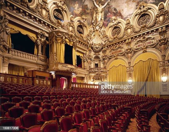 Salle Garnier Of Opera In Monte Carlo Pictures Getty Images