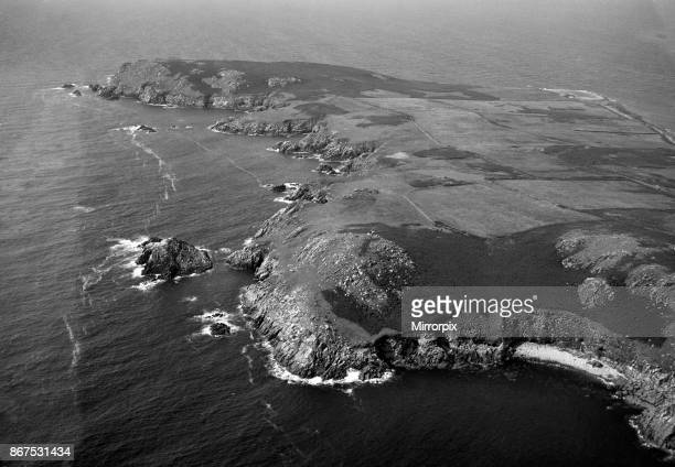 The Saltee Islands 5 kilometres off the southern coast of County Wexford Ireland 24th August 1953