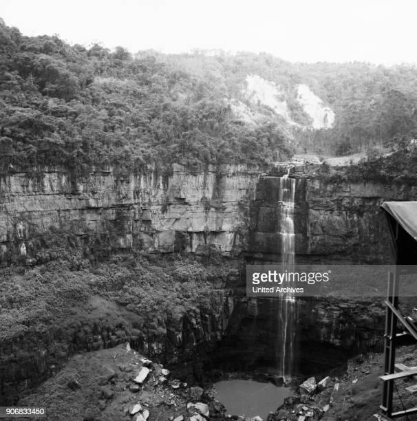 The Salto del Tequendama Colombia 1960s