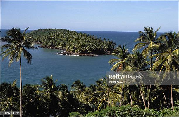 The Salut Islands Of The French Guiana On August 01th 1989
