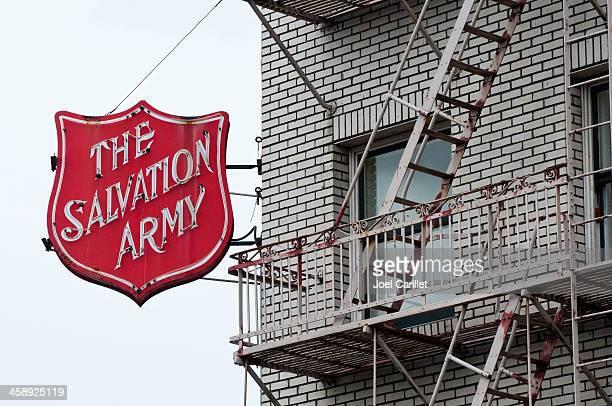 o exército de salvação - salvation army - fotografias e filmes do acervo
