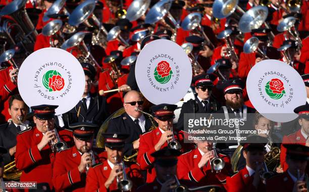 The Salvation Army Tournament of Roses Band perform during the 2019 Rose Parade in Pasadena on Tuesday, Jan. 1, 2019.