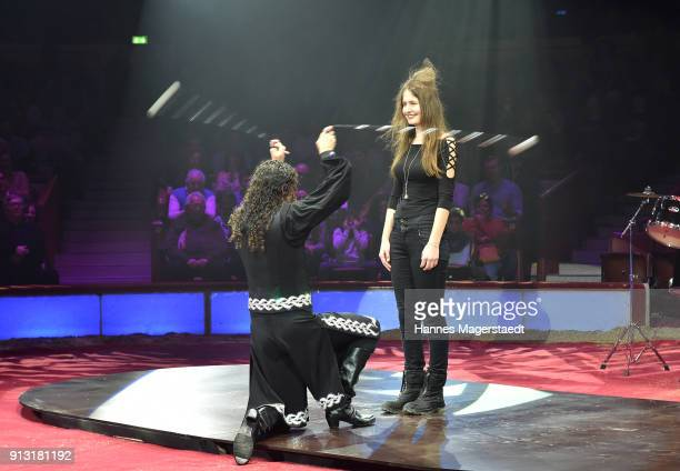 The Saly Borthers during Circus Krone celebrates premiere of 'Hommage' at Circus Krone on February 1 2018 in Munich Germany