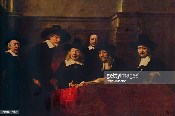 The Sampling Officials 1662 Also known as Syndics of the Drapers' Guild Painting held at the Rijksmuseum Amsterdam From WorldFamous Paintings edited...