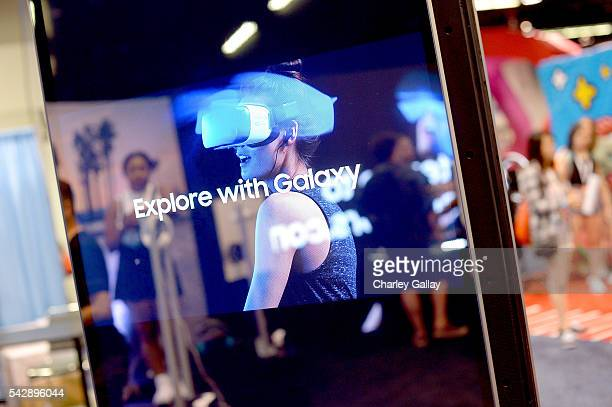 The Samsung Experience at VidCon 2016 on June 23 2016 in Los Angeles California