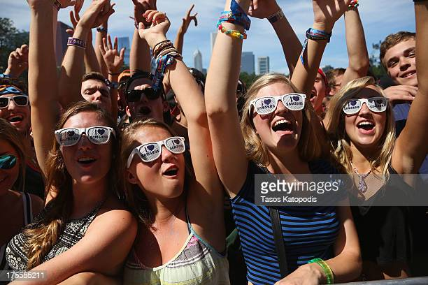 The Samsung Galaxy Experience at Lollapalooza on August 3 2013 in Chicago City