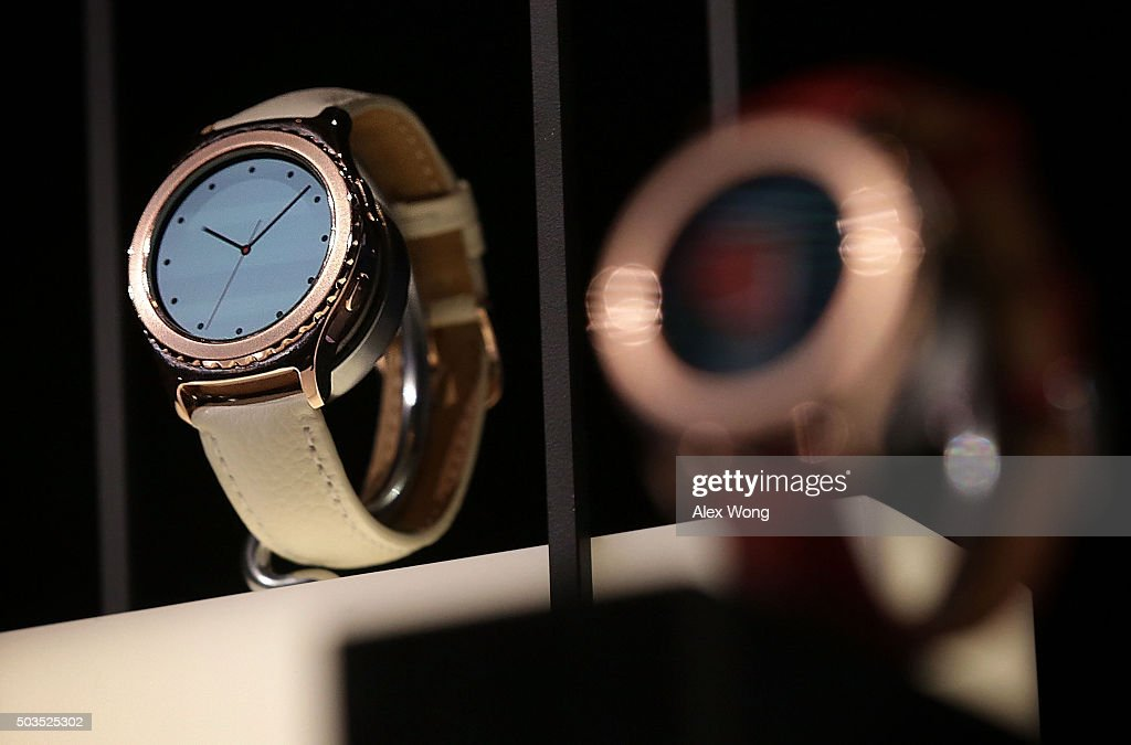 Latest Consumer Technology Products On Display At CES 2016 : News Photo